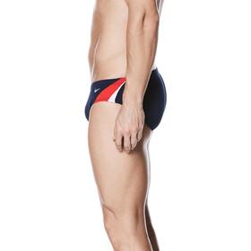 Nike Swim Poly Color Surge Brief Men University Red/Navy